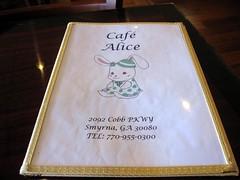 cafe alice - the menu by foodiebuddha