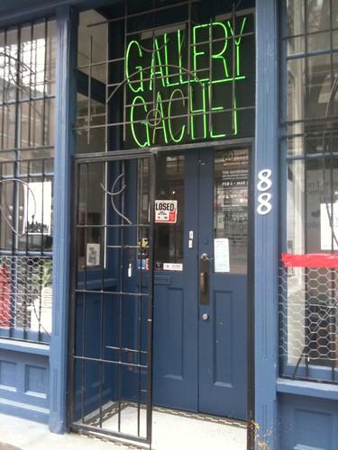 Gallery Gachet doorway