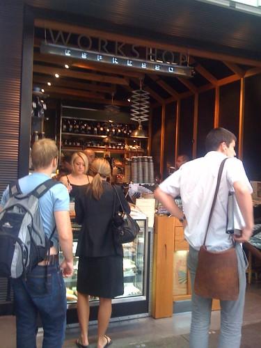 Workshop espresso, Sydney CBD