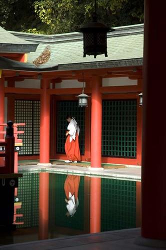 Akama-jingu shrine, Shimonoseki, Japan, 2006
