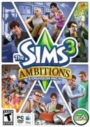 The Sims 3 Ambitions boxart not the final version?