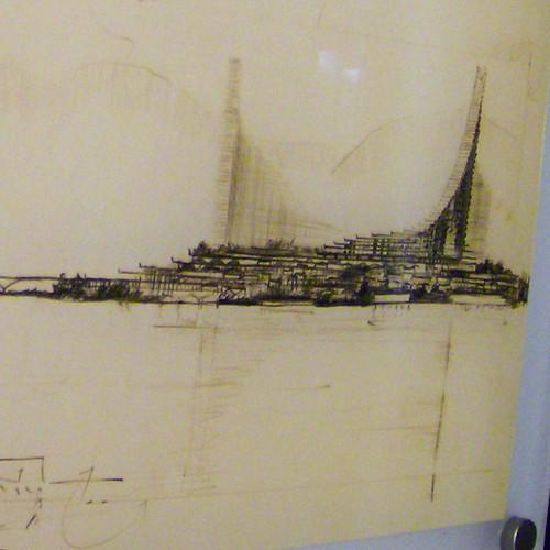 ARTHUR ERICKSON: PLAN 56 FOR THE WEST END, VANCOUVER , 1955 (DETAIL 3)