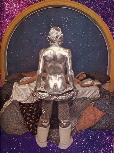 silver man is ready for bed