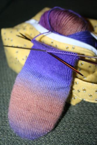 Mochi Entrelac Socks 02