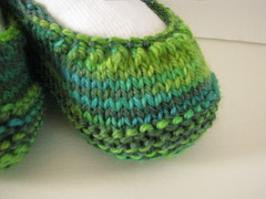 Tiny Green Shoes