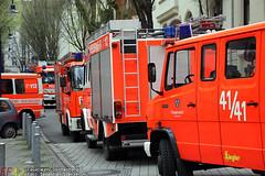 Zimmerbrand/Verpuffung Werderstraße 09.04.10