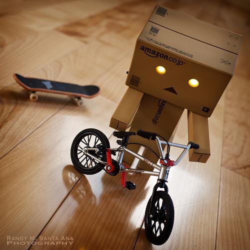 014/365:  Danbo Gets A Bike.