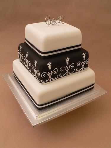 4059944911 ba95f3879d Baú de ideias: Decoração de casamento preto e branco