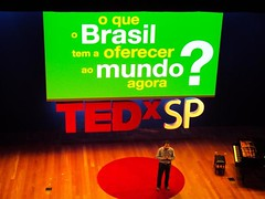 Luiz Algarra no TEDx SP