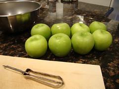 Apple Tart:  Granny Smiths