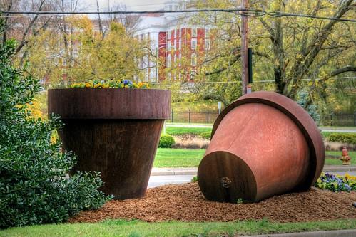 Staunton's Big Flower Pots