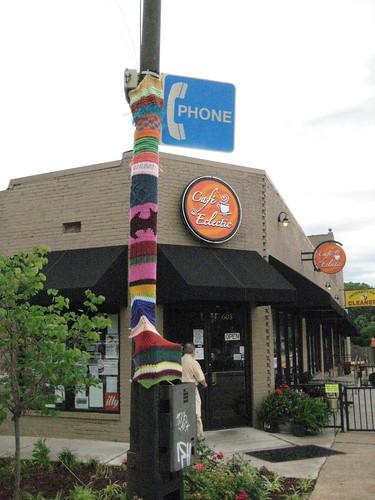 Memphis Knit Mafia strikes in Midtown!