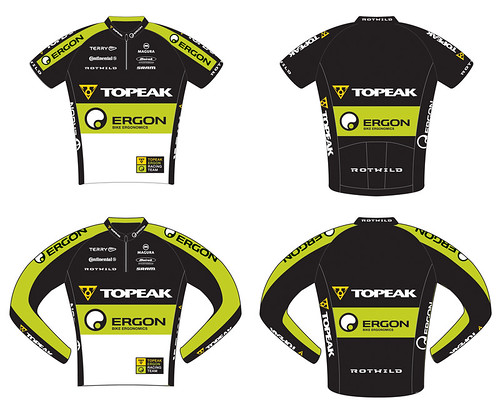 2010 Topeak Ergon USA tops