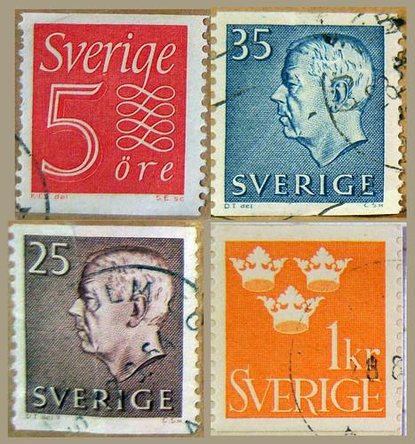 Swedish stamps