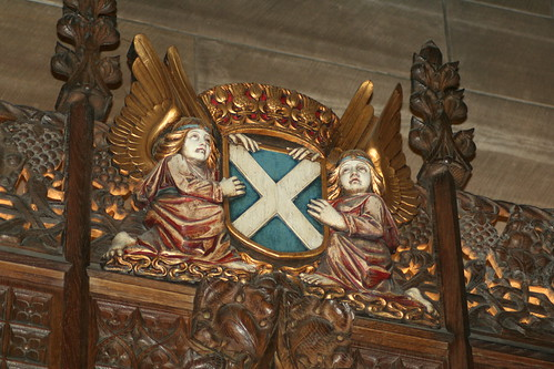 The Thistle Chapel, St Giles' Cathedral, Edinburgh