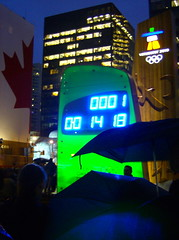2010 VANCOUVER WINTER OLYMPIC GAMES | COUNTDOWN CLOCK 14 HOURS AND 18 MINUTES TO GO