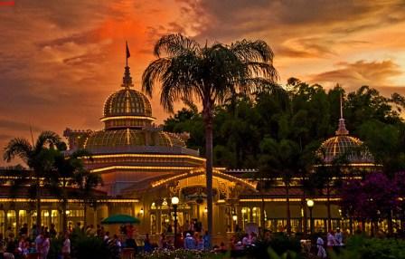 Walt Disney World - Magic Kingdom - Crystal Palace Sunset