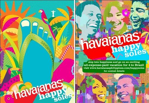 Havaianas Happy Sole Brazil