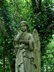 Pensive angel