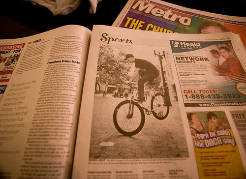 DanKarl and iMD in Metro Magazine