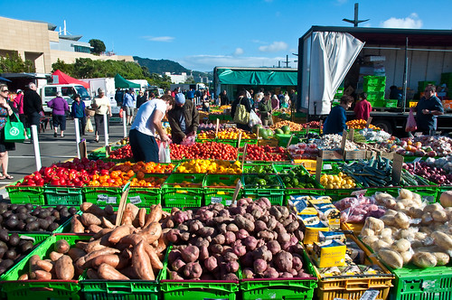 Budget Travel In New Zealand - Markets In Wellington