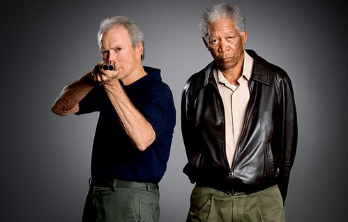 "CLINT EASTWOOD & MORGAN FREEMAN ""The Unforgiven"""