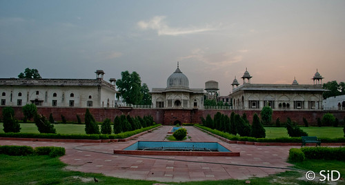 Red Fort - the King's chambers