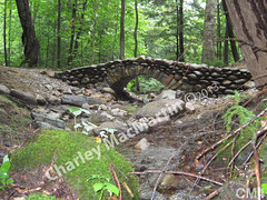 WM Charley MacMartin 4, bridge, dry laid stone bridge, dry laid stone construction, copyright 2014