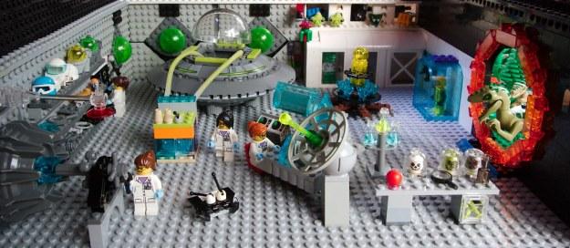 Alien research lab by Paul Albertella, on Flickr
