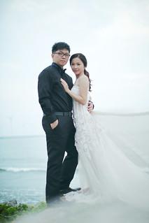 Pre-Wedding [ 中部婚紗 – 森林草原系列海邊 ] 婚紗影像 20160811 - 25