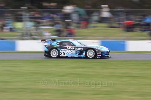 Tom Roche in the Ginetta GT4 Cup at the British Touring Car Championship 2017 at Donington Park