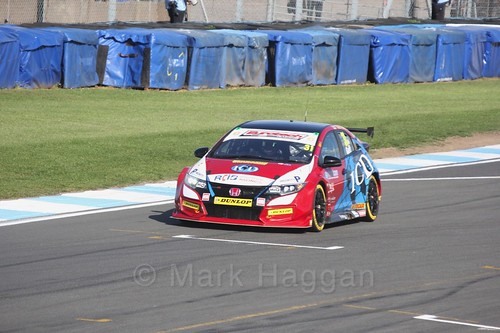 Jack Goff during qualifying during the BTCC Weekend at Donington Park 2017: Saturday, 15th April