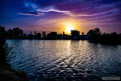 Sunset in Pamukkale