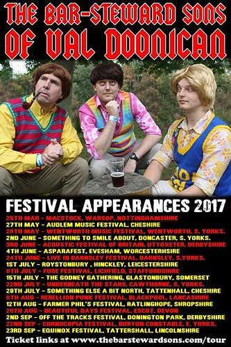 barsteward festival dates 2017