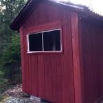 """En tur till farfar Eriks gamla koja. Den byggdes hemma på logen när pappa var liten. Sedan körde farfar ut den i skogen. #cabin #forest #outdoorlife #skogen #koja #nyckelby <a style=""""margin-left:10px; font-size:0.8em;"""" href=""""http://www.flickr.com/photos/131645797@N05/34162038146/"""" target=""""_blank"""">@flickr</a>"""