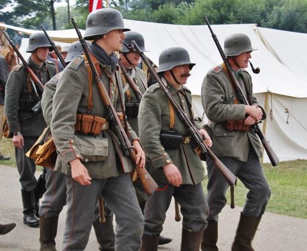 World War 1 Reenactment Uniforms - Year of Clean Water