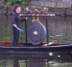 Gong Passing (Photo by John Nickerson)