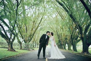 Pre-Wedding [ 中部婚紗 – 森林草原系列海邊 ] 婚紗影像 20160811 - 18
