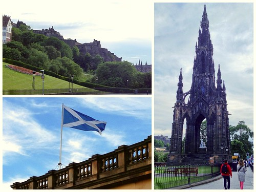 Today is all about...waving goodbye to Edinburgh