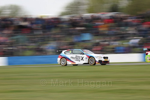 Rob Collard in race one at the British Touring Car Championship 2017 at Donington Park