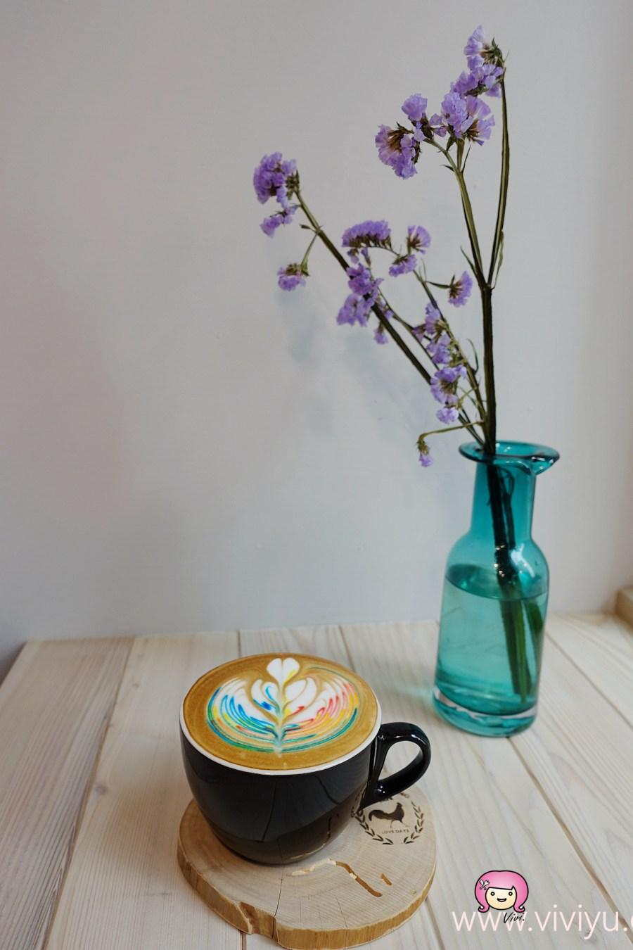 [桃園.美食]未秧咖啡.彩色拉花咖啡~中正藝文特區.荷蘭鬆餅鑄鐵鍋上桌 @VIVIYU小世界