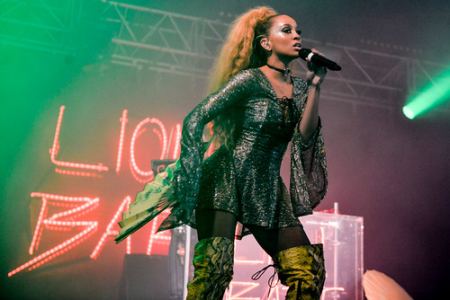 Lion Babe at Leeds festival 2016