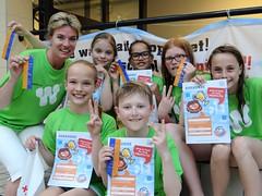 Team Willibrord. 2e plaats schoolzwemkampioenschap 2013 JPG