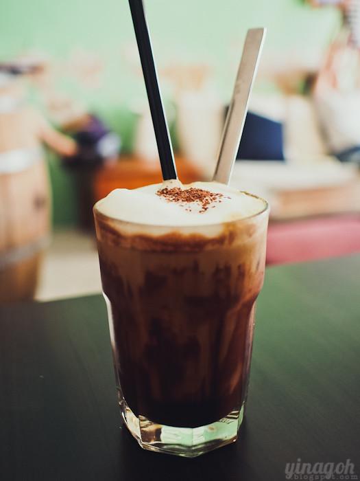Kooka Cafe Iced Mocha