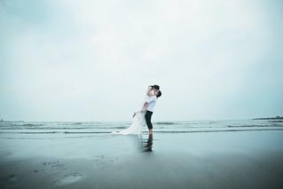 Pre-Wedding [ 中部婚紗 – 森林草原系列海邊 ] 婚紗影像 20160811 - 29