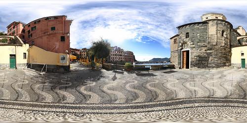 Vernazza Kirchplatz - 360°