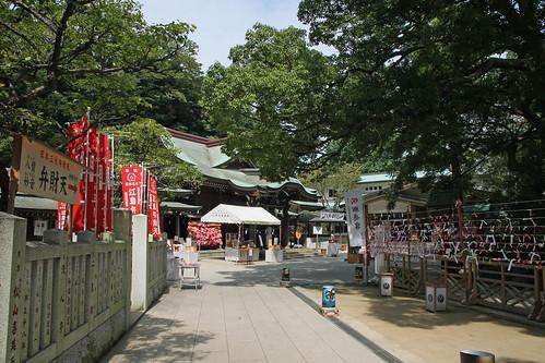 江島神社(辺津宮)(Enoshima Shrine, Kanagawa, Japan)