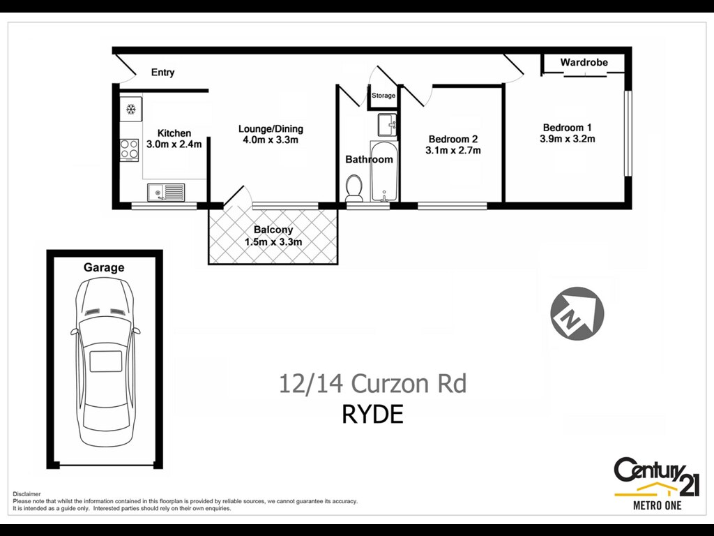 12 14 Curzon Street Ryde Nsw