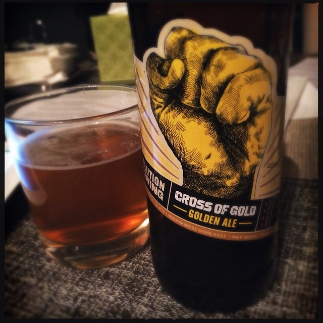 Cross of Gold - Golden Ale - Revolution
