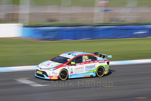 Tom Ingram during qualifying during the BTCC Weekend at Donington Park 2017: Saturday, 15th April